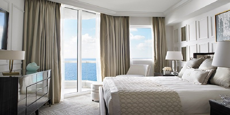 Acqualina Resort in Sunny Isles Beach Two-bedroom Oceanfront Hotel Suite