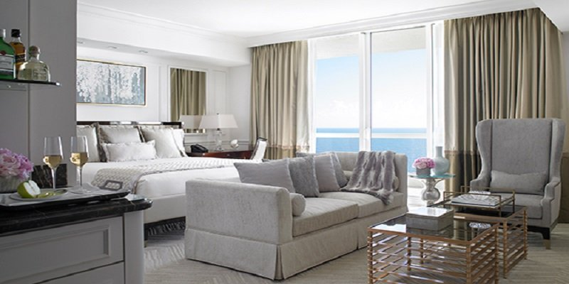 Acqualina Resort in Sunny Isles Beach Oceanfront Hotel Room