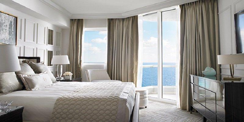 Acqualina Resort in Sunny Isles Beach One-bedroom Oceanfront Hotel Suite