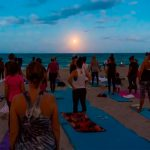 Free Full Moon Yoga On The Beach