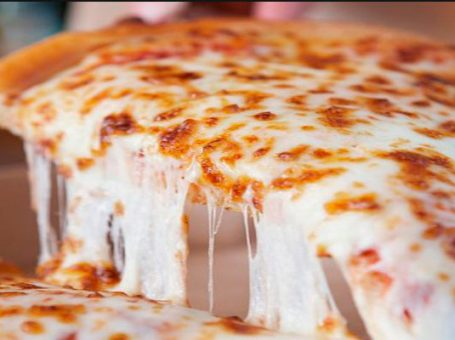 Homemade Cheese Pizza Recipe